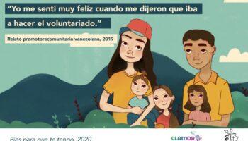 Pies para que te tengo - Migrantes venezolanos Red Clamor